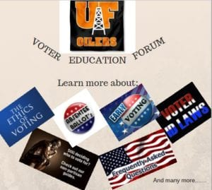 Voter Education Forum @ Buford Center for Diversity and Service | Findlay | Ohio | United States