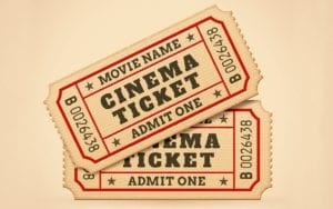 Movie Ticket Distribution @ AMU Hallway Outside of Student Activities Office