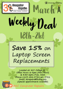 Save 15% on Laptop Screen Replacements at 3C Computer Repairs @ 3C Computer Repairs