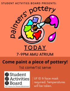 Painter's Pottery @ AMU Atrium
